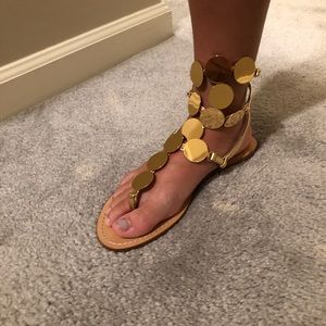 NiB Tory Burch Gladiator sandals
